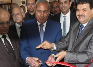 افتتاح أعمال التطوير والميكنة بمحكمة السويس الجزئية