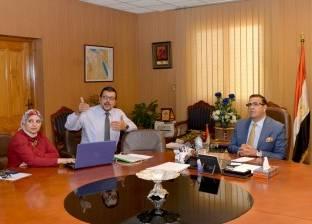 رئيس جامعة المنصورة يتابع تطوير وحدة أورام الأطفال