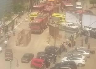 إصابة 10 عمال باختناق في حريق بمصنع ملابس بالعاشر من رمضان