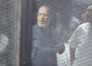 عاجل| الإعدام شنقا للبلتاجي والعريان وعبدالماجد في قضية اعتصام رابعة