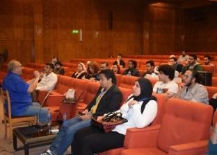 ورشة تصوير سينمائي لسعيد الشيمي على هامش مهرجان الأفلام التسجيلية