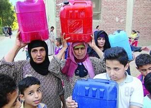 أهالى 13 قرية فى الدقهلية يعيشون بدون مياه للشرب منذ 3 شهور
