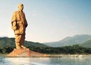 بالفيديو| الهند تكشف الستار عن أضخم تمثال في العالم