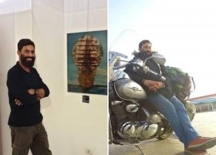 «بقدم مبتورة وإيد مقطومة».. «جعيصه» مهندس رسام يسطر بطولة واقعية