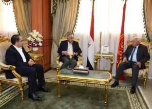 الغضبان: تحويل بورسعيد لأكبر تجمع لصناعة الملابس الجاهزة في مصر
