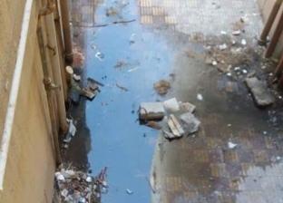 """""""المجاري"""" تحاصر أهالي عمارات بنك الإسكان في دمياط الجديدة"""