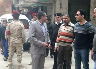 الرقابة الإدارية تشارك حي المنتزه أول في تنفيذ قرار إزالة بالإسكندرية