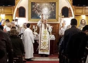 """الأنبا توماس عدلي يترأس القداس الإلهي لعيد """"الحبل بلا دنس"""""""