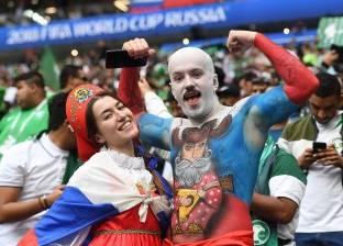 50 صورة من حفل افتتاح كأس العالم في روسيا