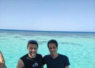 بعد زيارة «صلاح».. سر تفضيل لاعبي كرة القدم للغردقة: شواطئ و«جيم» (صور)