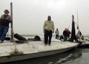 الدقهلية.. الصيادون يهجرون بحيرة المنزلة بسبب «ضيق الحال».. وطلباً للرزق
