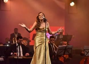 """بعد تألقها في """"القاهرة السينمائي"""".. أنغام تقدم أغنيات مهرجان الجونة"""