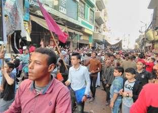 مسيرة حاشدة للطرق الصوفية في البحيرة احتفالا بالمولد النبوي