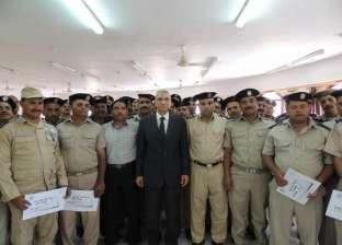 """ختام الدورة الـ50 لتنمية مهارات """"رجال الشرطة"""" في المنيا"""