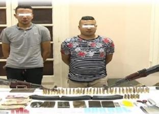 فيديو.. مصرع 3 عناصر إجرامية في تبادل لإطلاق النار بالسحر والجمال