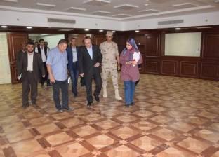 محافظ بني سويف يشيد بجهود الهيئة الهندسية للقوات المسلحة