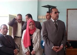 بالصور| التعليم: قيادات الوزارة  تتابع انتظام العملية التعليمية بمدارس محافظة شمال سيناء