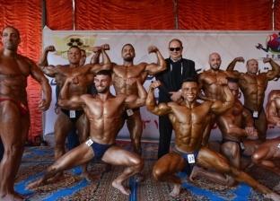 بالصور| محافظ الغربية يفتتح بطولة الجمهورية لكمال الأجسام