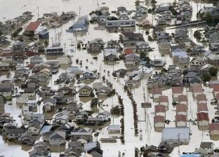 فيديو.. لقطات من إعصار اليابان.. يسقط عشرات الضحايا ويخلف دمارا شديدا
