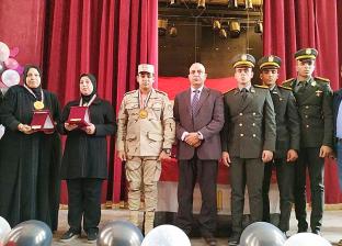 تكريم بطل معركة الفرافرة وأمهات الشهداء في ندوة ببور سعيد