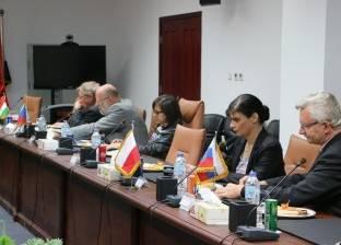 """وفد دول """"فيشجراد"""" يزور المنطقة الاقتصادية لبحث التعاون المشترك"""