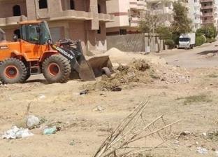 حملات لرفع الاشغالات وإزالة التعديات في بني مزار وديرمواس بالمنيا