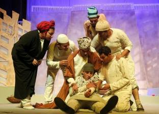 """عرض مسرحية """"أولاد البلد"""" على خشبة المسرح المكشوف بالفيوم"""