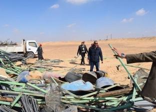 محافظ المنيا: استرداد 495 فدان أملاك دولة بمركز أبوقرقاص