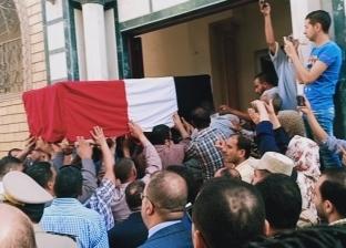 بالصور| جنازة عسكرية لجثمان مدير أمن أسيوط بمسقط رأسه في الغربية