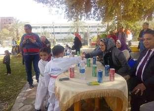 نائب محافظ الوادي الجديد تشارك بمعسكر التوعية والانتماء لأطفال المدارس