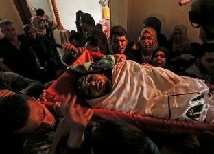 غزة تودع شهيدين إثر إصابتهما برصاص الاحتلال في مسيرات العودة