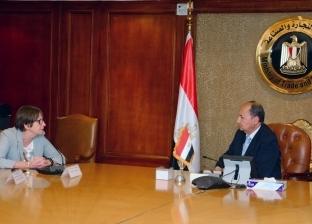 وزير التجارة يبحث مع سفيرة فنلندا بالقاهرة مستقبل التعاون