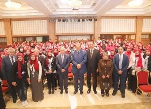 """""""سعفان"""" لطلاب جامعة بورسعيد: السيسي وضع مصر بمكانة تليق بها بين الأمم"""