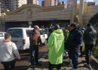 """رفع درجة الطوارئ بـ""""الصرف الصحي"""" بالإسكندرية بمناسبة عيد الميلاد"""