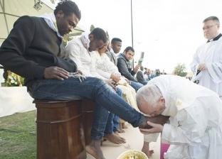 الكنيسة: تقبيل بابا الفاتيكان أقدام وفد جنوب السودان علامة لطلب السلام