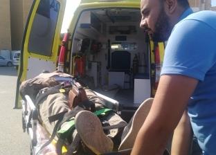 """في 4 دقائق.. """"إسعاف البحر الأحمر"""" يسجل أسرع وصول لضحايا حادث بالغردقة"""