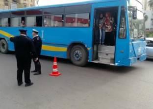 بالصور| مدير أمن الإسكندرية يتفقد الخدمات المرورية