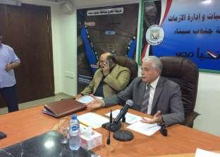 محافظ جنوب سيناء يخصص 12 مليون جنيه لتطوير الطرق بالمدن