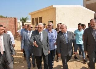 افتتاح 4 مدارس وتوسعات بالسنبلاوين في الدقهلية