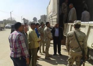 مباحث التموين تضبط 8 تجار بتهمة بيع سلع مجهولة المصدر في القاهرة