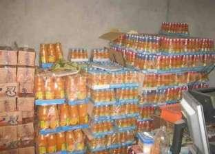 ضبط 354 عبوة سلع تموينية مدعمة وعصائر وعبوات غذائية فاسدة في الغربية