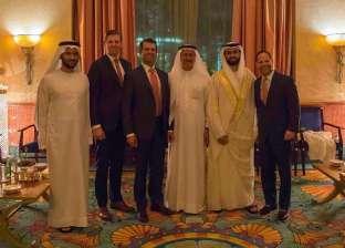 """نجلا ترامب يحضرا حفل زفاف ابنة مالك """"داماك"""" في دبي"""