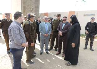 مدير أمن البحيرة يتفقد الخدمات الأمنية والكنائس بمركز بدر