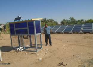 تركيب 9 محطات طاقة شمسية بمركز الخارجة في الوادي الجديد