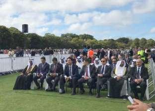 سفير مصر في نيوزلندا يشارك بمراسم دفن الشهداء المصريين بحادث المسجديّن