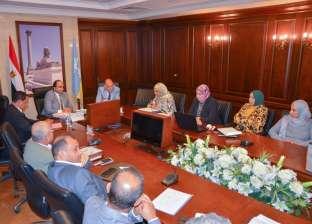 نائب محافظ الإسكندرية يتابع تنفيذ خطة الرصف المنفذة بالأحياء