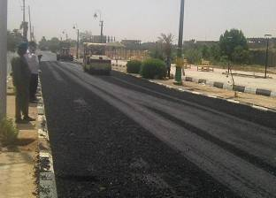 """استكمال طريق """"الخارجة - باريس"""" بالوادي الجديدة بتكلفة 68 مليون جنيه"""