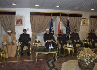 الأمن المركزي ينظم ندوة تثقيفية بحضور الشيخ خالد الجندي