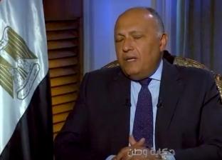 وزير الخارجية: هناك دول مستفيدة من الإرهاب لتحقيق أغراض سياسية