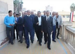 بالصور| محافظ كفر الشيخ: نبحث استغلال قصر الملك فؤاد الأول كمزار سياحي